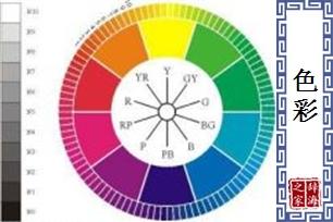 色彩的意思、造句、近义词